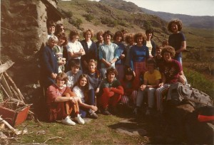 1984 Meet at Cwm Dyli